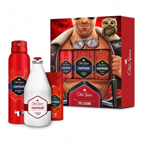 Old Spice Pack The Legend
