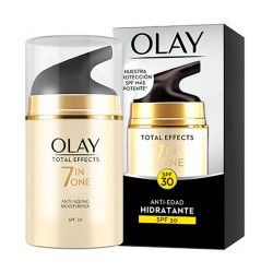Comprar Olay Total Effect Hidratante Anti-edad SPF30 50ml