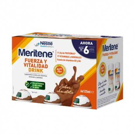 Meritene Drink Chocolate 6x125ml