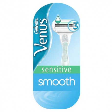 Gillette Venus Máquina Smooth Sensitive 1 Unidad