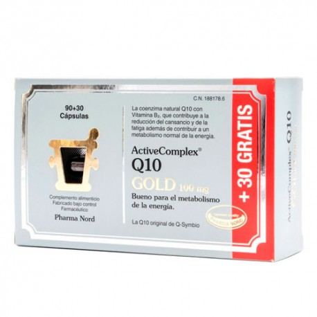 ActiveComplex® Q10 Gold 100mg 90+30 Cápsulas