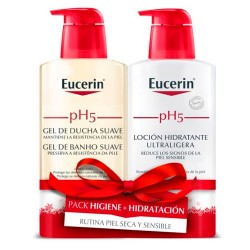 Comprar Eucerin PH5 Pack Gel Ducha 400ml + Loción Hidratante 400ml