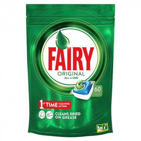 Fairy Maquina All In One 60 Cápsulas