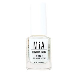 Mia Cosmetics 2 in 1 Bright Look Tratamiento Uñas 11ml