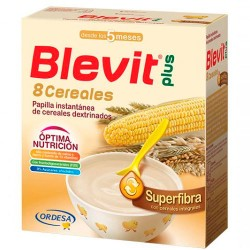 Blevit Plus 8 Cereales Superfibra 600g.