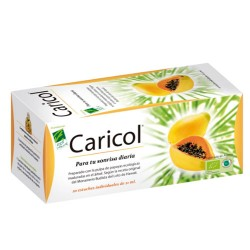 Comprar 100% Natural Caricol 20x21ml Monodosis