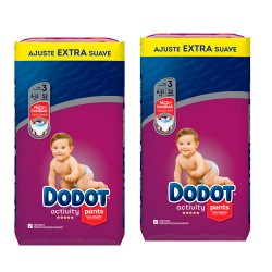 Dodot Activity Pants Talla 3 (6-10kg) Pack Ahorro 104 Unidades