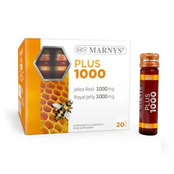 Marnys Jalea Real Plus 1000mg 20 Viales x 10ml