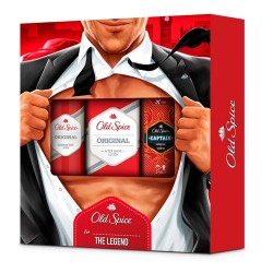 Old Spice Original Desodorante 150ml + After Shave 100ml + Regalo