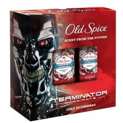 Old Spice Pn Spray 150ml + Gel 250ml (Wolf)