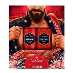 Comprar Old Spice Captain Pack Desodorante 150ml + Gel Baño 250ml