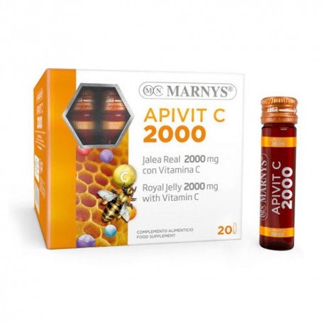 Marnys Apivit C Plus 2000 Mg 20 Viales x10ml
