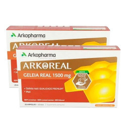 Arkopharma Jalea Real Forte Plus Pack 2x20 Ampollas