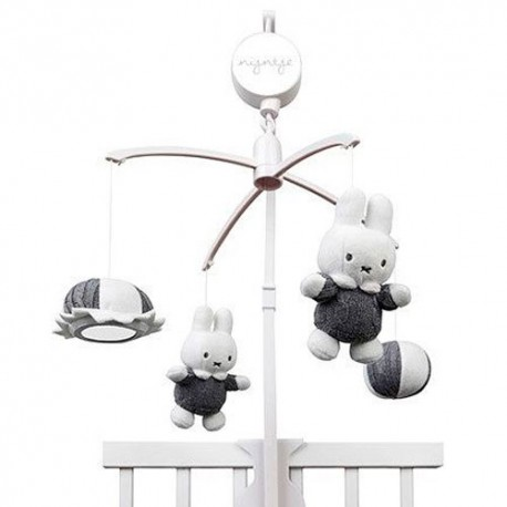 Olmitos Miffy Carrusel Musical Gris