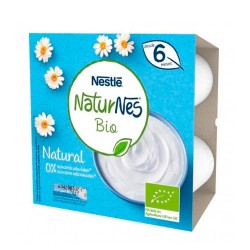 Nestle Naturnes Bio Natural 4x90g.