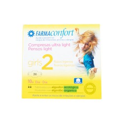 Comprar Farmaconfort Compresas Ultralight 2 10 Unidades