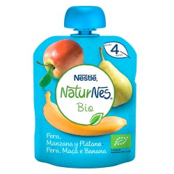 Comprar Nestlé Naturnes Bio Pera, Manzana y Platano 90gr