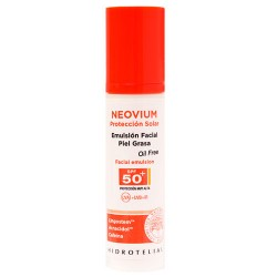 Hidrotelial Neovium Emulsion Facial Oil-Free Spf50+ 50 ml