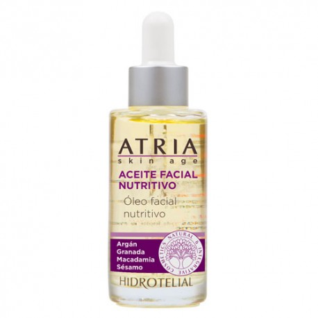 Hidrotelial Atria Aceite Facial Nutritivo  30ml
