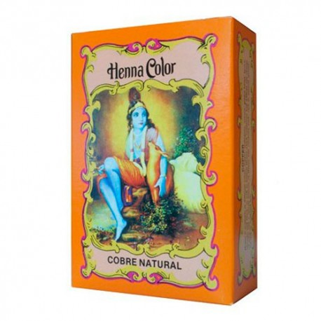Radhe Shyam Henna Color Cobre Natural 100g