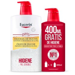 Comprar Eucerin Oleogel PH5 Family Pack 1L + Regalo 400ml