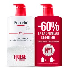 Comprar Eucerin Ph5 Gel Baño Duplo 2x1000ml