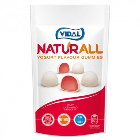Vidal Naturall Yogurt Flavour Gummies 180gr