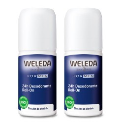 Weleda Desodorante Roll-On 24h Granada Duplo 2x50ml