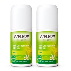 Comprar Weleda Desodorante Roll-On 24h Citrus Duplo 2x50ml