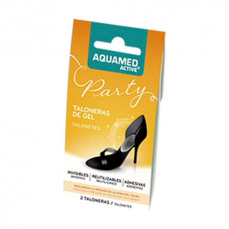Aquamed Taloneras Gel 2 Unidades