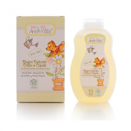 Anthyllis Baby ECO Gel de Baño y Champú Delicado
