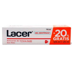 Lacer Gel Dentrífico Promo 125ml+25ml