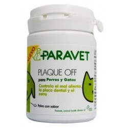 Paravet Plaque Off Mal Aliento Perros y Gatos 40g