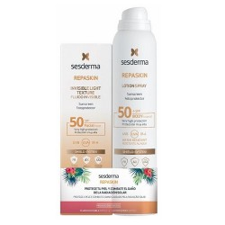 Comprar Sesderma Pack Repaskin Fluido SPF50 50ml + Sensitive Spray SPF50 200ml