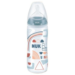 Nuk Biberón First Choice Little Friends Silicona XL 6-18m 360ml