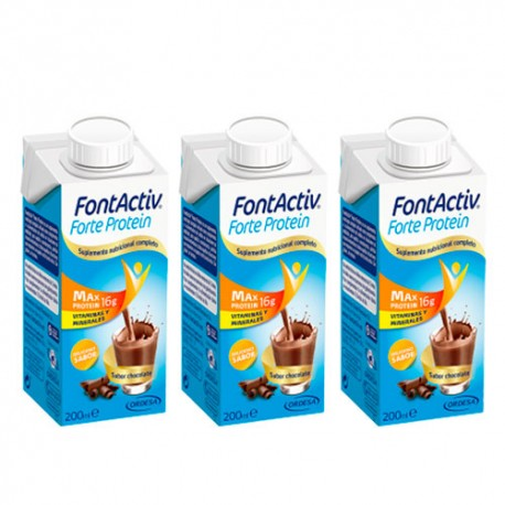 FontActiv Forte Protein Chocolate 3x200ml