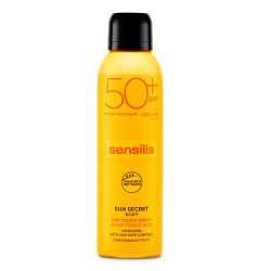 Comprar Sensilis Sun Secret Spray Toque Seco SPF50+ 200ml