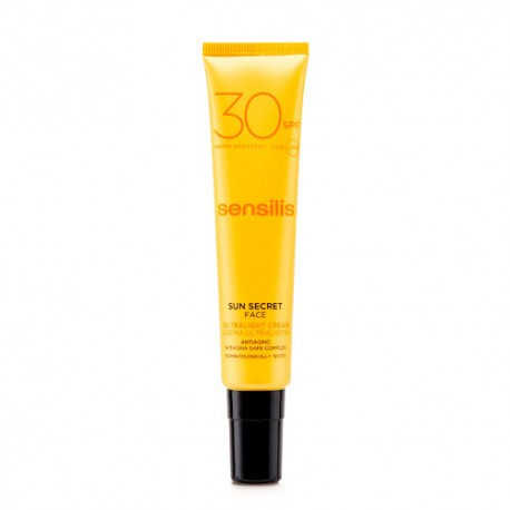 Sensilis Sun Secret Crema Ultraligera SPF 30 40ml