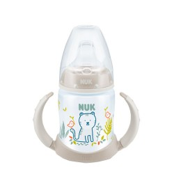 Nuk Biberón First Choice+ Entrena Jungle Silicona 6-18 meses 150ml