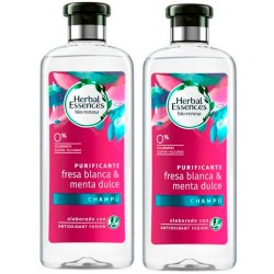 Comprar Herbal Essences Bio Pack Fresa & Menta Champú Duplo 2x400ml