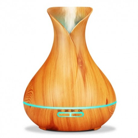 Naturoleo Difusor- Humidificador Led 7 Colores Color Madera