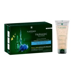 Rene Furterer Triphasic Reactionel Anticaida 12 Amp + Champú 100ml