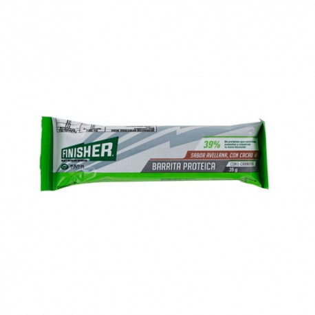 Finisher Barrita Proteica Avellana y Chocolate 35gr