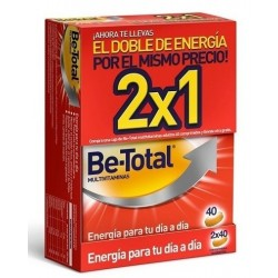 Comprar Be Total Multivitaminas 2x40 comprimidos