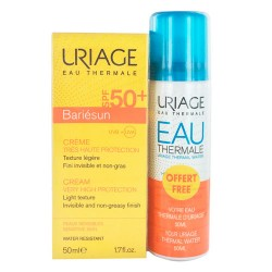 Comprar Uriage Bariésun Crema SPF50+ 50ml + Agua Termal 20ml Regalo