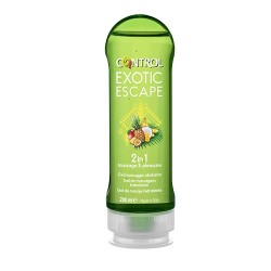 Control Gel Masaje 2 en 1 Exotic Escape 200ml