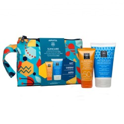 Comprar Apivita Suncare Crema Solar Facial Anti-Manchas SPF50 50ml +Gel Aftersun 100ml
