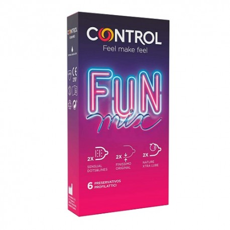 Control Fun Mix 6uds