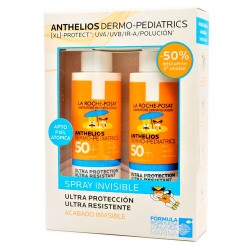 Comprar La Roche Posay Anthelios Pediatrics Spray Invisible SPF50+ Duplo 2x200ml