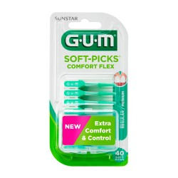 Gum Soft Picks Comfort Flex Regular 40 Unidades